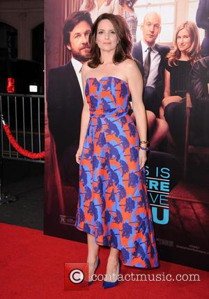 Tina Fey - Stars of new film 'This Is Where I Leave You' were photographed on the red carpet for...
