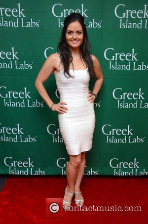 Danica McKellar - Dancing with the Stars Season 19 Backstage Gifting suite