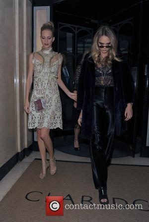 Cara Delevingne and Poppy Delevingne