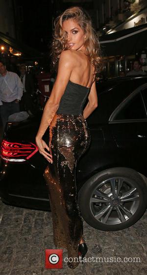 Izabel Goulart - London Fashion Week Spring/Summer 2015 - AnOther Magazine Party held at Loulou's private members club - London,...