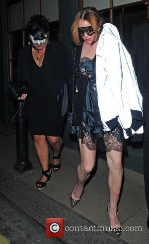Lindsay Lohan - London Fashion Week Spring/Summer 2015