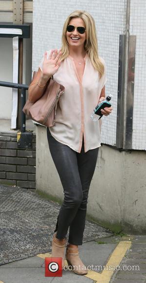 Penny Lancaster - Penny Lancaster outside the ITV studios - London, United Kingdom - Monday 15th September 2014