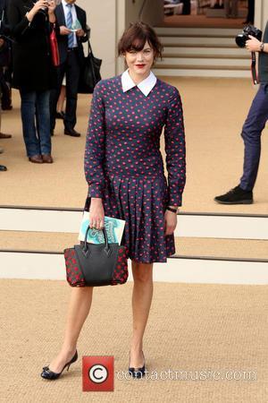 Jasmine Guinness - London Fashion Week Spring/Summer 2015 - Burberry - Arrivals - London, United Kingdom - Monday 15th September...
