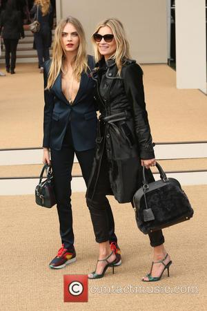 Kate Moss and Cara Delevingne