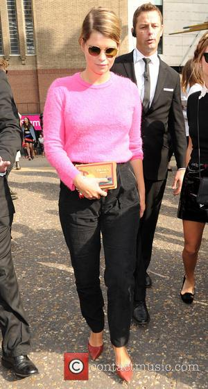 Pixie Geldof - Pixie Geldof pictured at the Christopher Kane fashion show - London, United Kingdom - Monday 15th September...