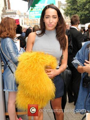 Delilah at London Fashion Week