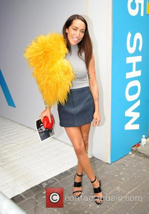 Delilah - London Fashion Week Spring/Summer 2015 - Marques'Almeida - Arrivals - London, United Kingdom - Tuesday 16th September 2014