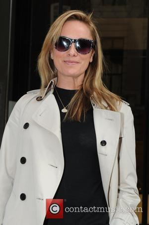 Tamzin Outhwaite - London Fashion Week Spring/Summer 2015 - Design Collective for Evans - Outside Arrivals - London, United Kingdom...