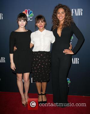 Cristin Milioti, Rashida Jones and Lenora Crichlow