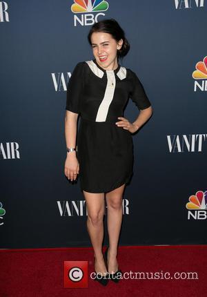 Mae Whitman - Celebrities attend NBC & Vanity Fair 2014-2015 TV Season at Hyde Sunset Kitchen - Red Carpet Arrivals...