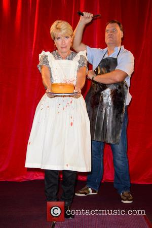Emma Thompson and Bryn Terfel - 'Sweeney Todd: The Demon Barber of Fleet Street' photocall at The Coliseum - London,...