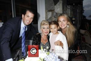 Don Trump Jr, Ivana Trump, Vanessa Trump and Kai