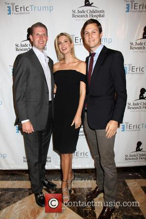 Ivanka Trump, Jared Kushner and Eric Trump