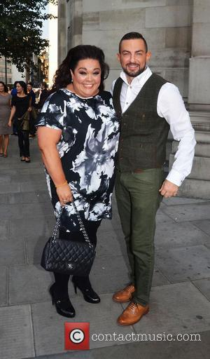 Lisa Riley - London Fashion Week Spring/Summer 2015 - Design Collection by Evans event - London, United Kingdom - Tuesday...
