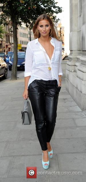 Ferne McCann - Ferne McCann at London Fashion Week - London, United Kingdom - Tuesday 16th September 2014