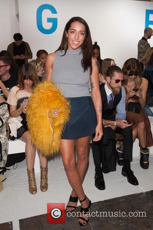 Delilah - London Fashion Week Spring/Summer 2015 - Marques'Almeida - Front Row - London, United Kingdom - Tuesday 16th September...