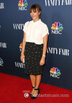 Rashida Jones - Celebrities attend NBC & Vanity Fair 2014-2015 TV Season at Hyde Sunset Kitchen - Red Carpet Arrivals...