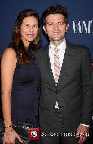 Adam Scott - NBC & Vanity Fair 2014-2015 TV Season held at Hyde Sunset Kitchen - Arrivals - Los Angeles,...