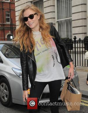 Clara Paget - Clara Paget leaving her hotel - London, United Kingdom - Wednesday 17th September 2014