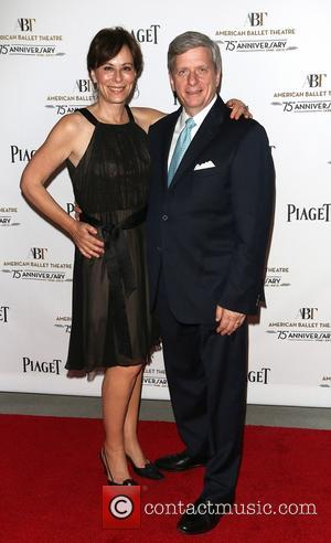 Jane Kaczmarek and Larry Bpland - ABT 'Stars Under The Stars' evening to benefit the American Ballet Theatre in Beverly...