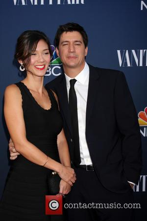 Ken Marino and wife - NBC & Vanity Fair's 2014-2015 TV Season Event at Hyde Sunset - Los Angeles, California,...