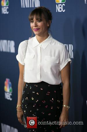 Rashida Jones - Celebrities we photographed as the arrived at the NBC & Vanity Fair 2014-2015 TV Season held at...