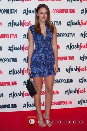 Lucy Watson - Glamorous and fashionable stars took to the red carpet at the Cosmopolitan #FashFest event which was held...