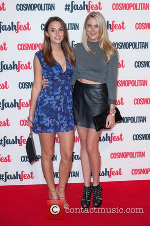 Lucy Watson and Stephanie Pratt