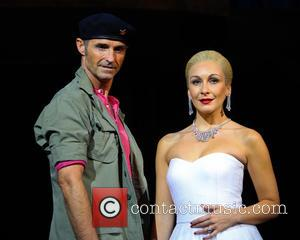 Marti Pellow and Madalena Alberto - Evita photo call at Dominion Theatre - London, United Kingdom - Thursday 18th September...