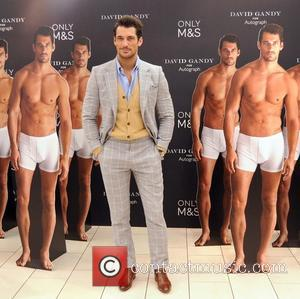 David Gandy - David Gandy launches his Underwear range at M&S Dublin - Dublin, Ireland - Friday 19th September 2014