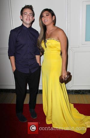 Kevin Mchale and Jenna Ushkowitz