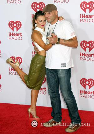 Karina Smirnoff and Randy Couture - iHeartRadio Music Festival - Las Vegas, Nevada, United States - Friday 19th September 2014