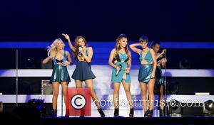 The Saturdays, Frankie Bridge, Una Foden, Rochelle Humes, Mollie King and Vanessa White