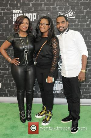 Kandi Burruss, Riley Burruss and Todd Tucker