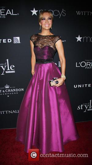 Thalia - Popular women's fashion magazine Vanidades hosted the Icons Of Style Gala 2014 in New York, United States -...