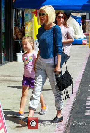 Tori Spelling and Stella McDermott - Tori Spelling out and about in Los Angeles - Los Angeles, California, United States...