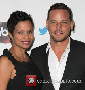 Keisha Chambers and Justin Chambers - Stars were snapped at the Palihouse in West Hollywood for the TGIT Premiere Event...