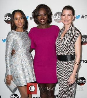 Kerry Washington, Viola Davis and Ellen Pompeo