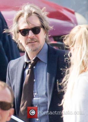 Gary Oldman - Filming of new movie 'Criminal' - London, United Kingdom - Sunday 21st September 2014