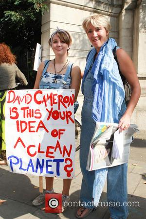 Emma Thompson - Photo's from the Peoples Climate March, a march to put pressure on the UK government and corporations...