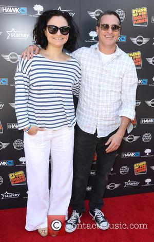 Rain Phoenix and Joaquin Phoenix - Shots from the red carpet at Tony Hawk's 11th Annual Stand Up For Skateparks...