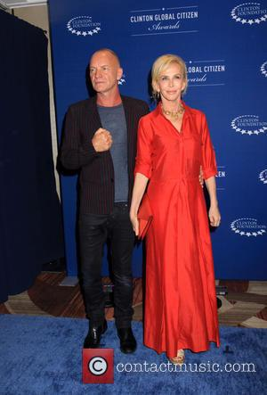 Trudie Styler and And Sting