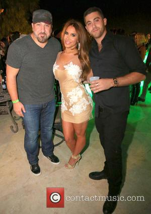 Joey Fatone, Nikki Giavasis and Joey Chowaiki - InstaBrand's Summer Closeout Party - Los Angeles, California, United States - Sunday...