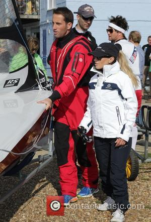 Georgie Thompson and Ben Ainslie