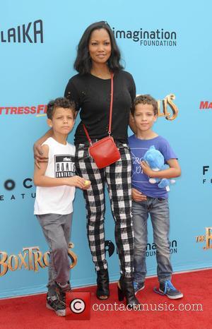 Garcelle Beauvais, Jax Nion and Jaid Nilon - Preimere of 'The Boxtrolls' - Arrivals - Los Angeles, California, United States...