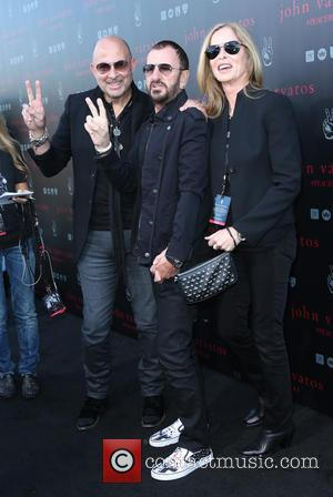 John Varvatos, Ringo Starr and Barbara Bach