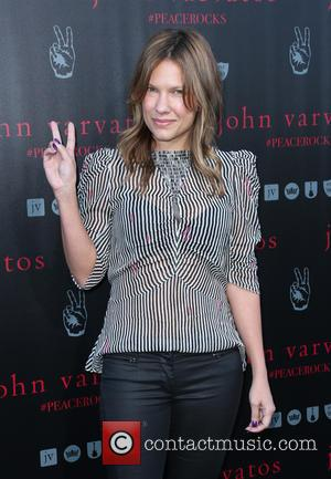 Kiele Sanchez - A number of stars we're snapped as they arrived at John Varvatos' International Day of Peace Celebration...