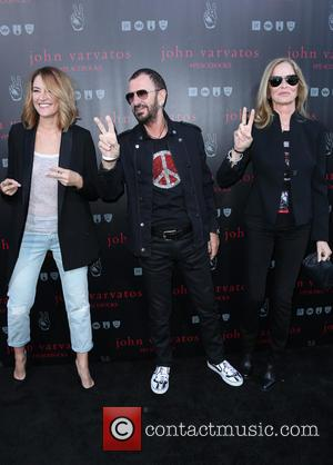 Madchen Amick, Ringo Starr and Barbara Bach