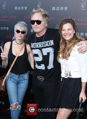 Matt Sorum - A number of stars we're snapped as they arrived at John Varvatos' International Day of Peace Celebration...