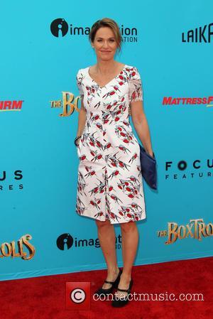 Amy Brenneman - Preimere of 'The Boxtrolls' - Arrivals at AMC Universal CityWalk. - Universal City, California, United States -...